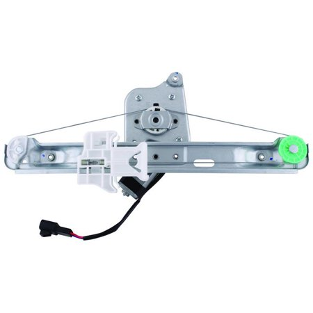 Driver Side Rear Left Window Regulator and Motor Chevrolet Malibu 2005 From 6 and 06 and 2005-2008