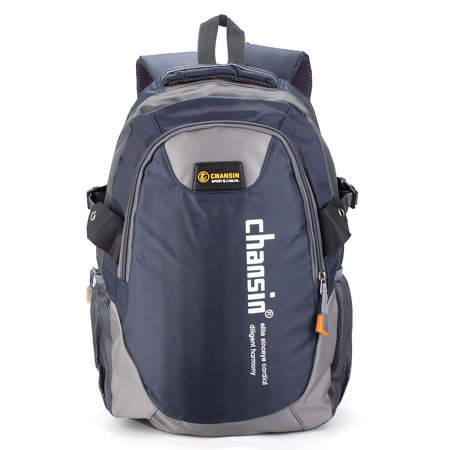 Unisex Women Men Travel Satchel Backpack Nylon Hiking Outdoor School Book Bag,Dark Blue color