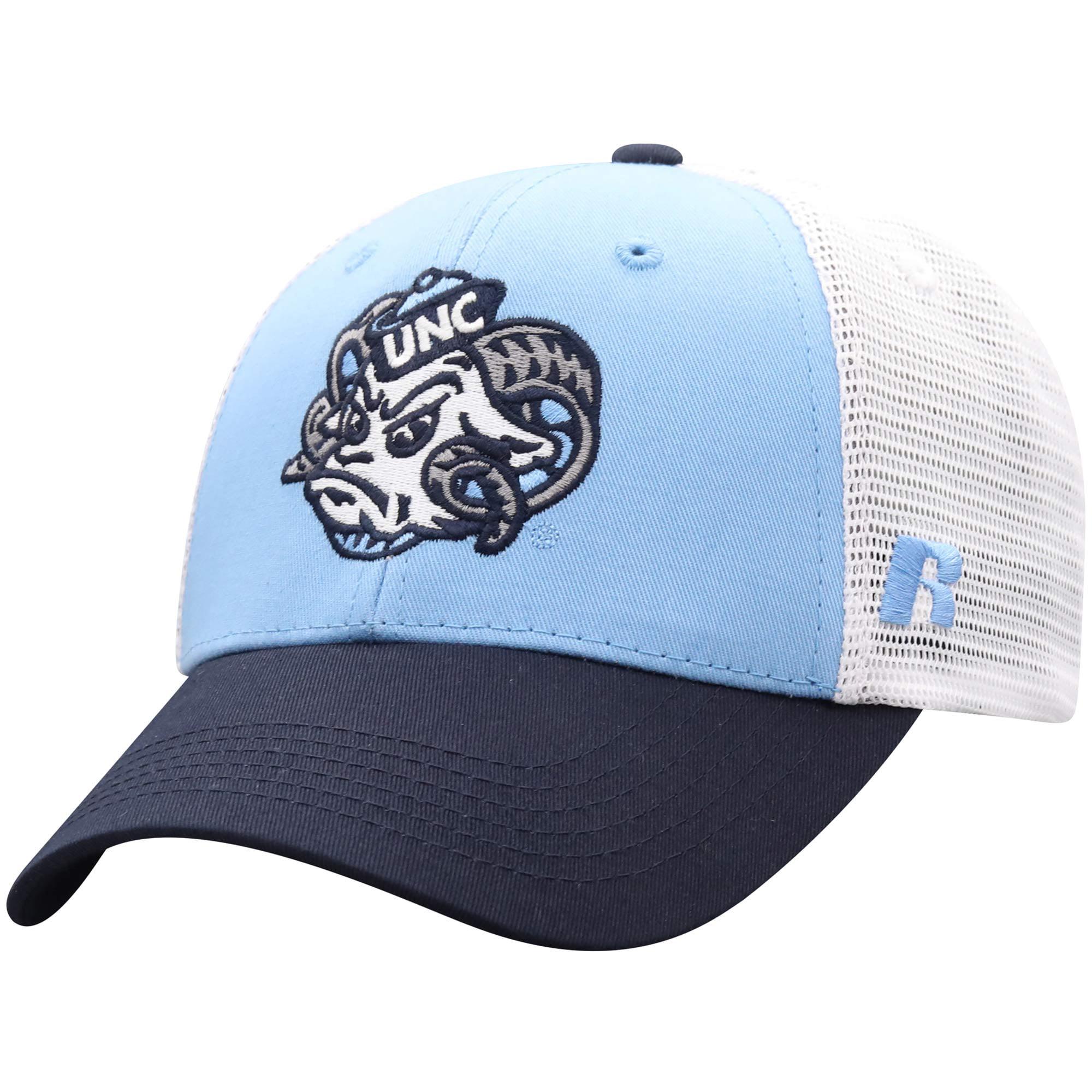 Men's Russell Carolina Blue/White North Carolina Tar Heels Steadfast Snapback Adjustable Hat - OSFA