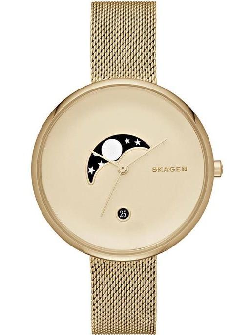 Skagen Women's SKW2373 Gold Stainless-Steel Swiss Quartz Watch