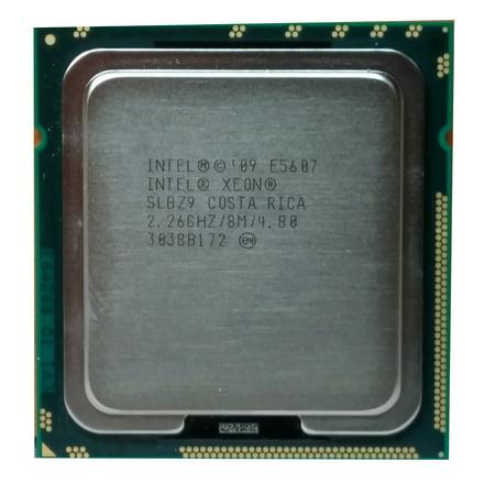 Refurbished Intel Xeon E5607 2.26GHz LGA 1366/Socket B 2400MHz Server CPU SLBZ9