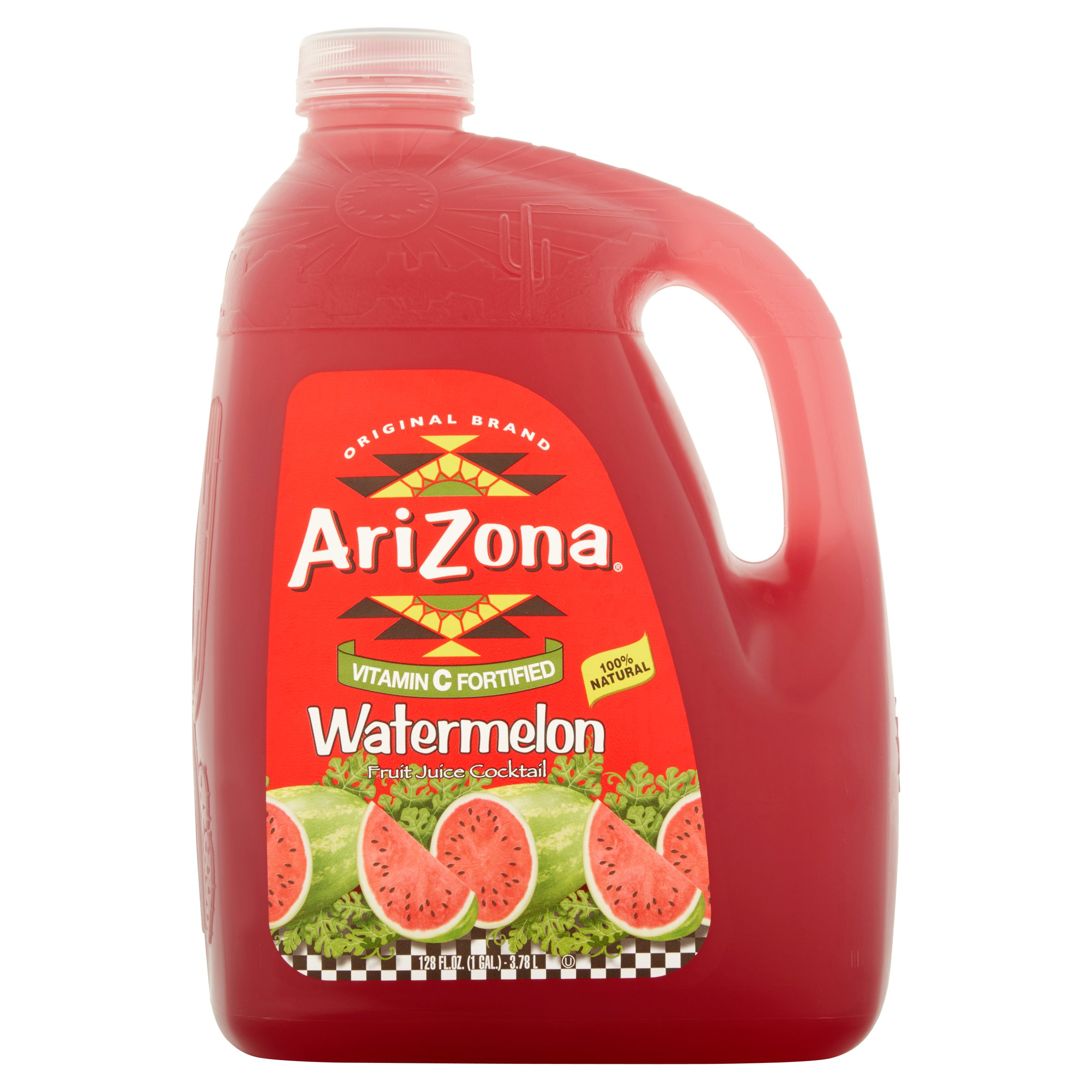 Arizona Juice Cocktail, Watermelon, 128 Fl Oz, 1 Count