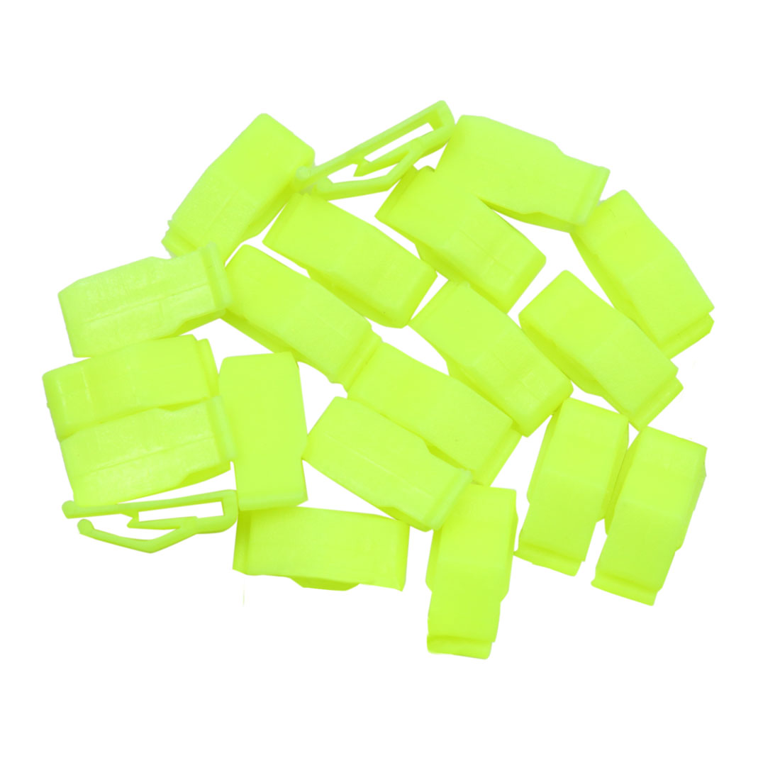 20pcs Green Car Console Plastic Retainer Dashboard Moulding Trim Clip Fastener - image 2 de 2