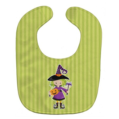 Halloween Witch #2 Baby Bib - Mr Clean Baby For Halloween