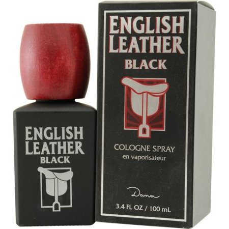 Dana Classic Fragrances English Leather Black Cologne, 3.4 oz