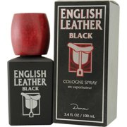 Dana Classic Fragrances English Leather Black Cologne, 3.4 oz
