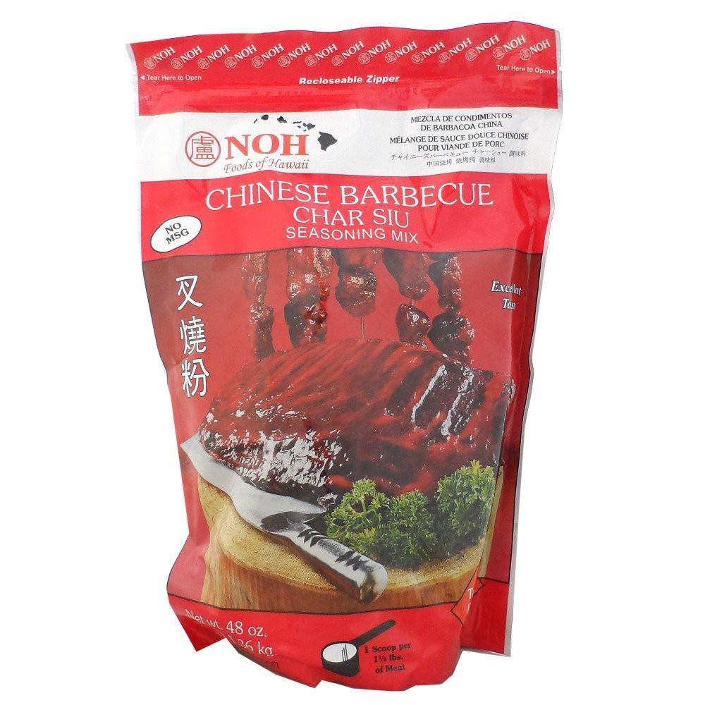 NOH Chinese Barbecue Char Siu Seasoning Mix, 3-pound Bag ...