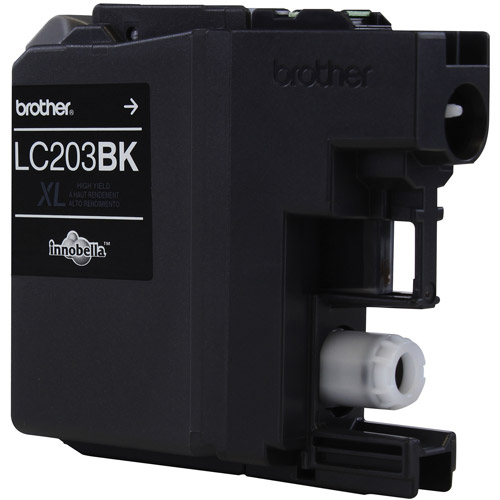 Brother LC203BK Black High Yield Ink Cartridge