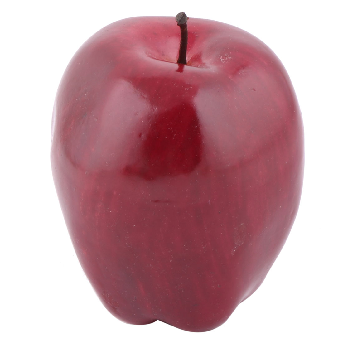 Unique Bargains Home Office Ornament Foam Handmade Simulation Artificial Fruit Apple Model Red - image 2 of 2
