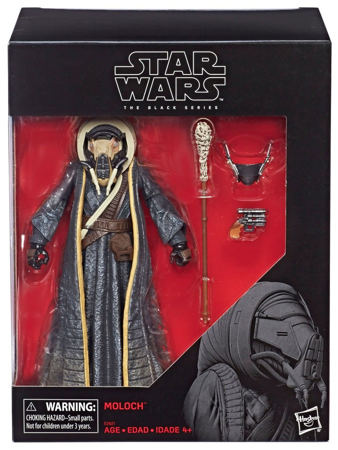 "Star Wars The Black Series 6"" Moloch Figure"