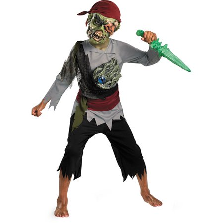 zombie pirate child halloween costume. Black Bedroom Furniture Sets. Home Design Ideas