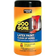 Goo Gone Latex Paint Clean Up Wipes-50 Wipes/Pkg