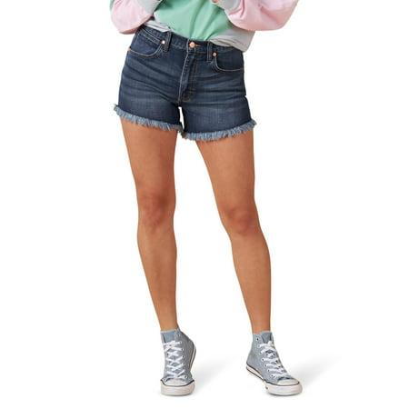 Wrangler Women's Cut Off Denim Short