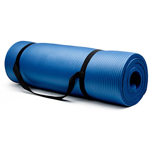 "Crown Sporting Goods 3/4"" Extra Thick Yoga Mat"