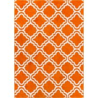 Deals on Well Woven StarBright Calipso Modern Trellis Rug 5x7-inch