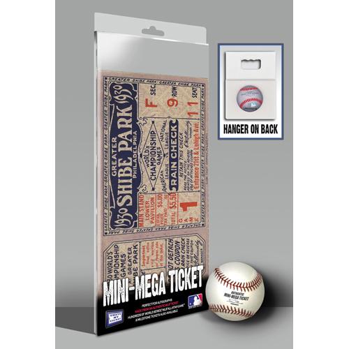 That's My Ticket 1930 MLB World Series Oakland Athletics Mini Mega Ticket