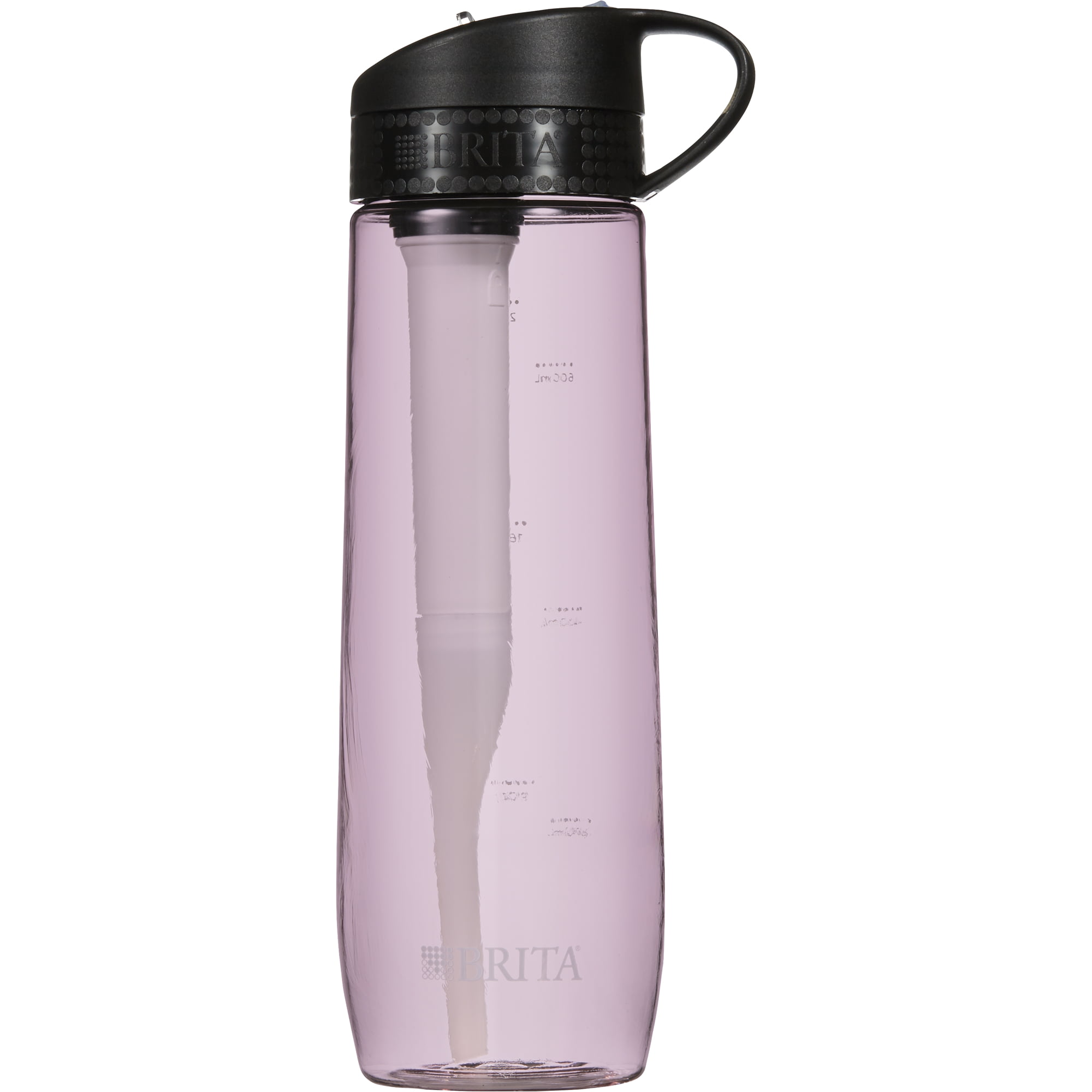 Brita Hard Sided Water Bottle with Filter 23.7 oz BPA Free Pink by The Clorox Company