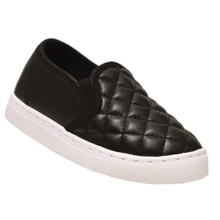Anne Marie Anne Marie Girls Black Quilted Top Panel Slip