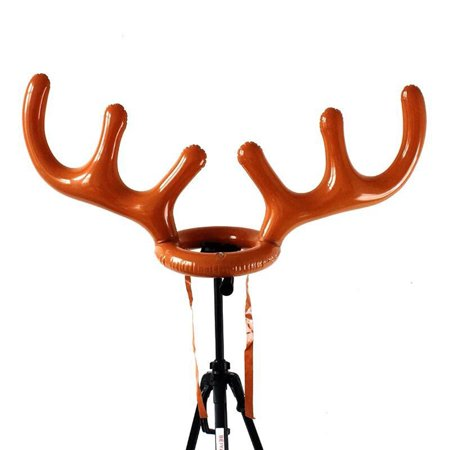 Holiday Clearance Toss Inflatable Reindeer Antler Hat with Rings PVC Christmas Holiday Party Family Kids Office Games - Reindeer Antlers For Your Car