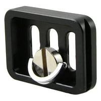 AkoaDa Mini Quick Release Plate With Camera Screw 1/4andquot; For Ty-C10 Tripod Head