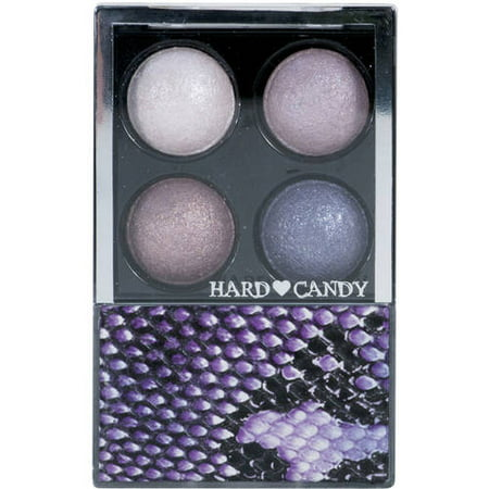Hard Candy Mod Quad Baked Eye Shadow Compact, 0720 Pink Interlude, .25 (Bebe Eyes Eye Candy)