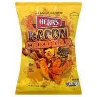 Herr's Bacon Cheese Flavored Cheddar Curls, 7 Oz.