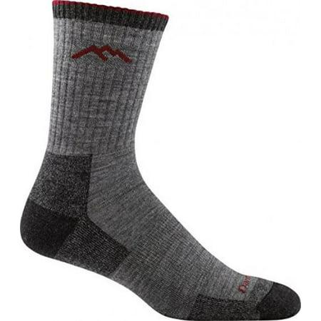 Darn Tough Vermont Merino Wool Micro Crew Cushion Sock, Chocolate, X-Large(12.5+)