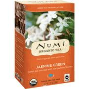 Numi Teas Jasmin Green Tea 18 Bag, Pack of 2