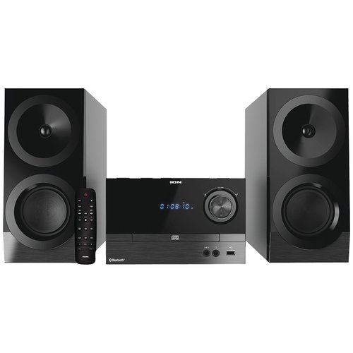 ION IAS01 Compact Bluetooth Shelf Hi-Fi FM Stereo System with CD Player by ION Audio