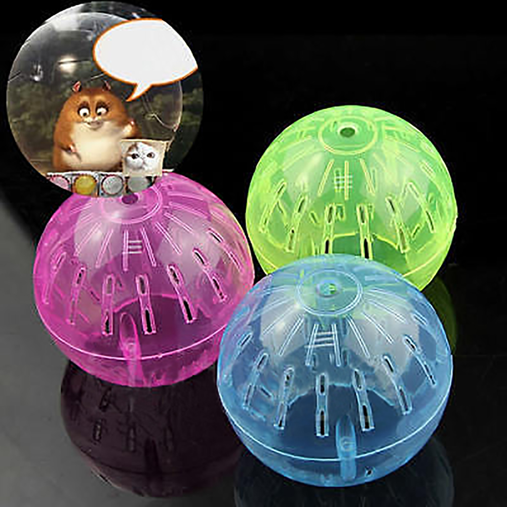 Micelec Pet Supply Rodent Mice Jogging Hamster Gerbil Rat Toy Plastic Exercise Ball