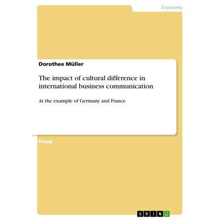 The impact of cultural difference in international business communication -  eBook
