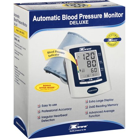 Zewa Automatic Deluxe Model Blood Pressure Monitor  1Ct