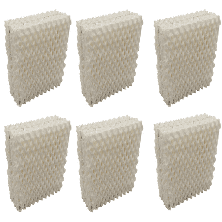6 Humidifier Filters Wick for Duracraft DH-832, AC-813