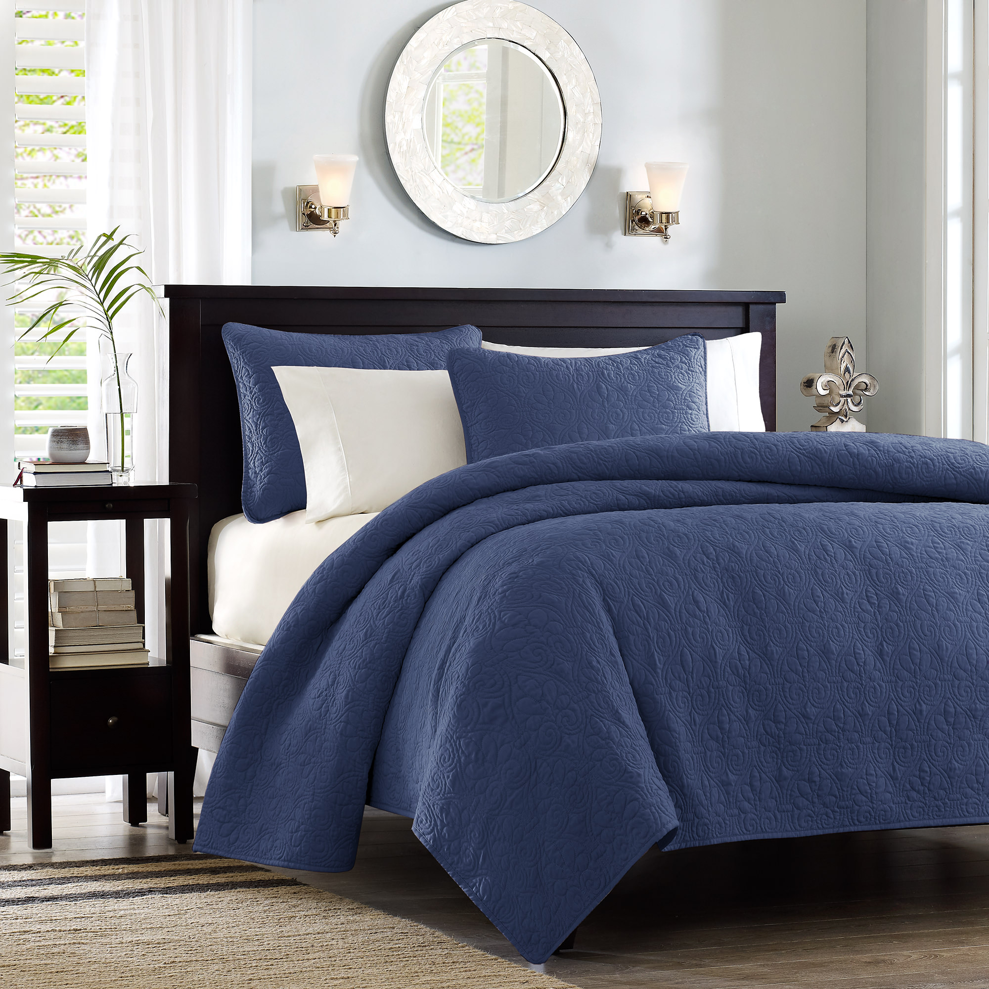Home Essence Vancouver Quilted Super Soft Coverlet Mini Set by E&E Co. Ltd