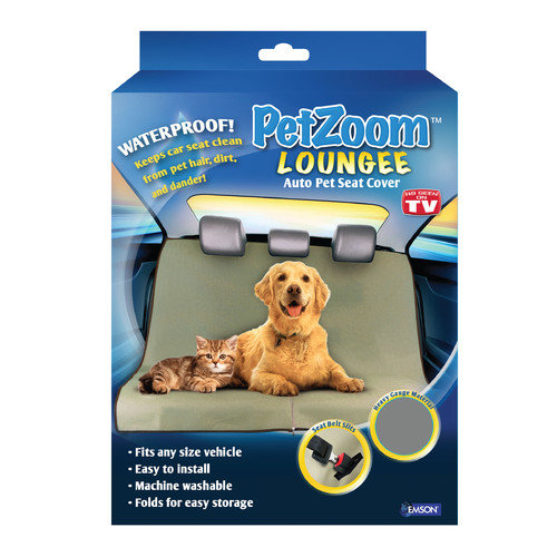 As Seen on TV PetZoom Loungee Auto Pet Seat Cover