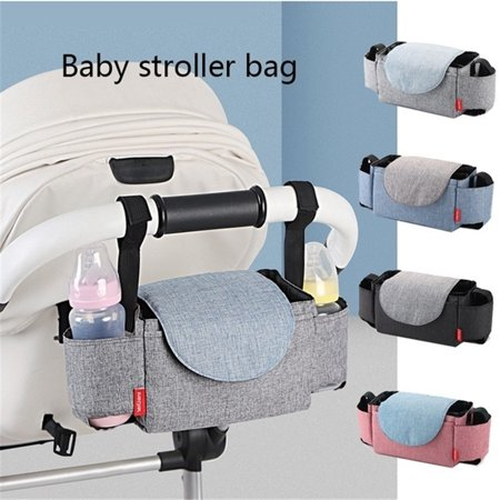 Stroller Organizer Bag for All Baby Stroller,  Mummy Nappy Bag for Carrying Bottles, Diapers, Toys etc