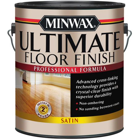 Ultimate 1-Gallon Floor Finish, Satin Amber Scavo Finish