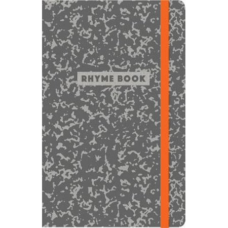 Rhyme Book : A lined notebook with quotes, playlists, and rap