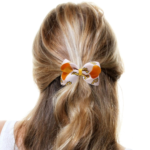 Pittsburgh Pirates Two-Tone Hair Bow - No Size
