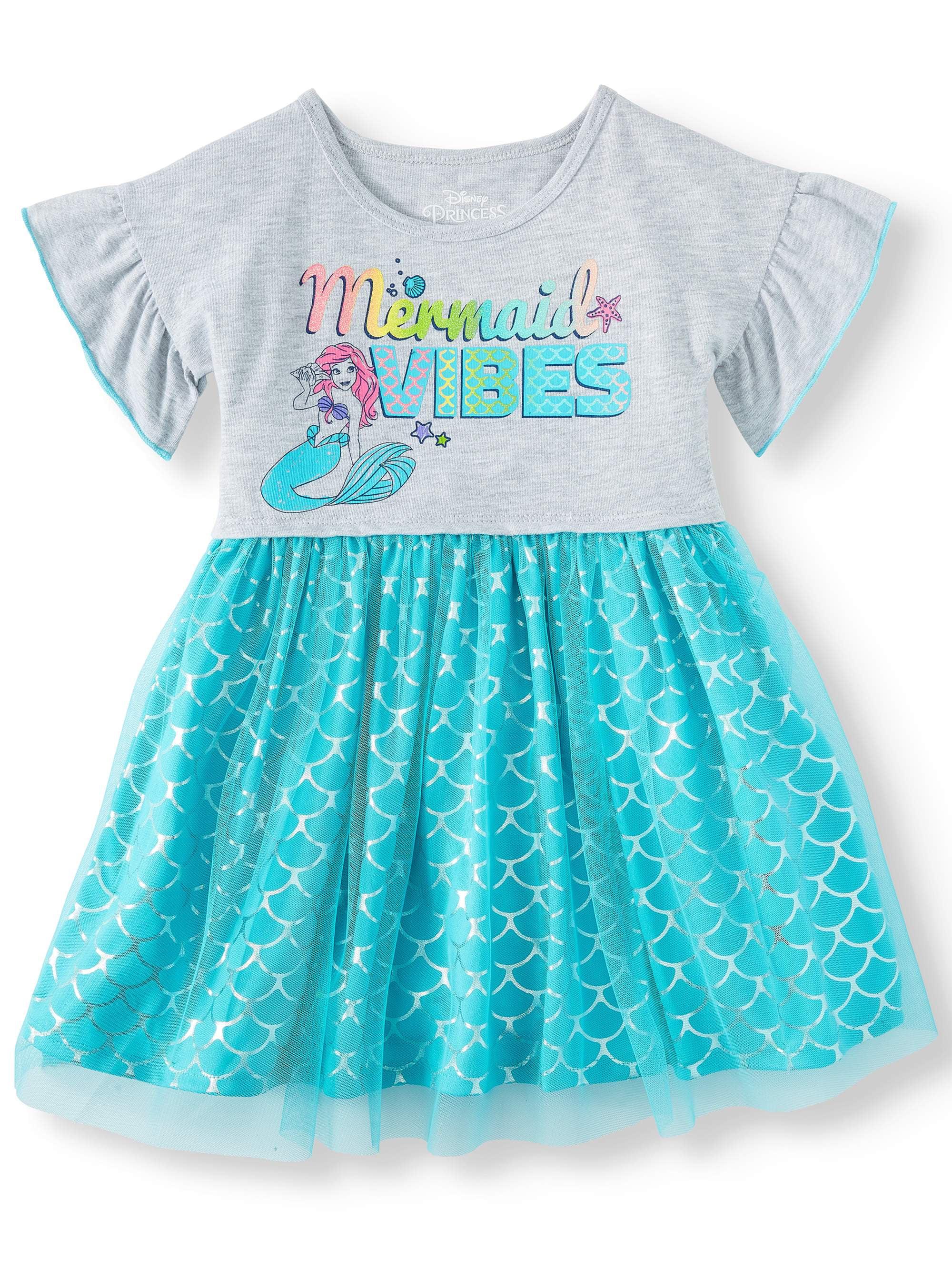 eb1c41d8e Disney Princess - The Little Mermaid Tutu Dress (Toddler Girls) - Walmart .com