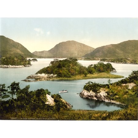 Upper Lake Killarney Ireland 1890s Poster Print by Science Source