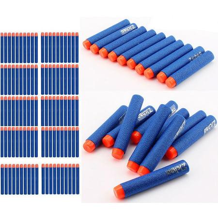 10PCS Kid Toy Gun Soft Bullet Darts Round Head Blasters for Elite Series Blaster Toy