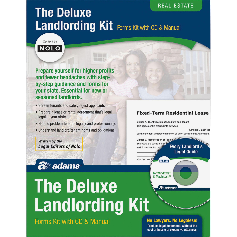 Adams Landlording Kit Walmart Com