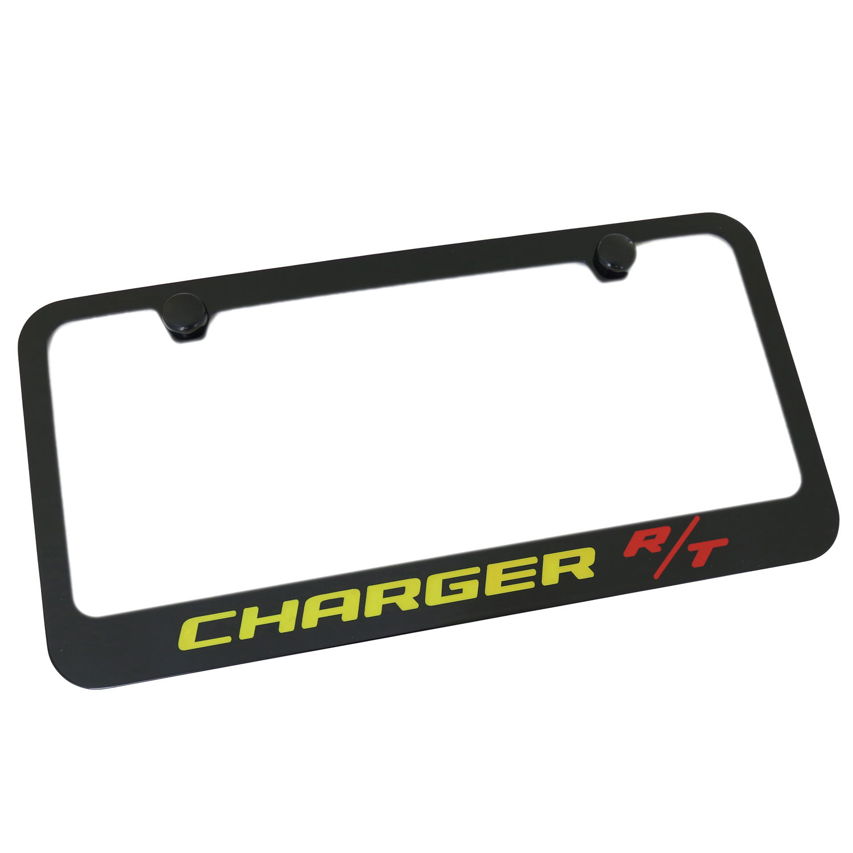 Dodge RAM Rust Proof Zinc Daytona-Lite License Plate Frame Holder