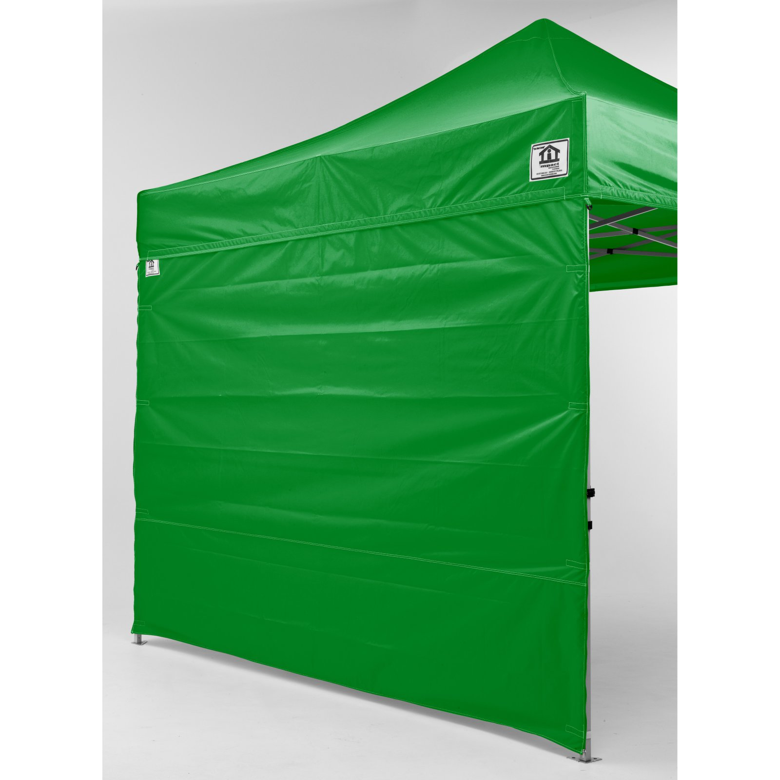 Impact Canopy 10 x 10 ft. EZ Pop Up Canopy with Sidewalls and Roller