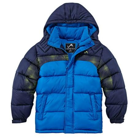37b9b03f9 Vertical 9 - Vertical 9 Toddler Boys Blue Insulated Puffer Jacket Winter  Coat - Walmart.com