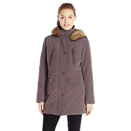 69eb1df2b2e Fleet Street Ltd. - Fleet Street Ltd. Women s Diamond Quilted Anorak ...