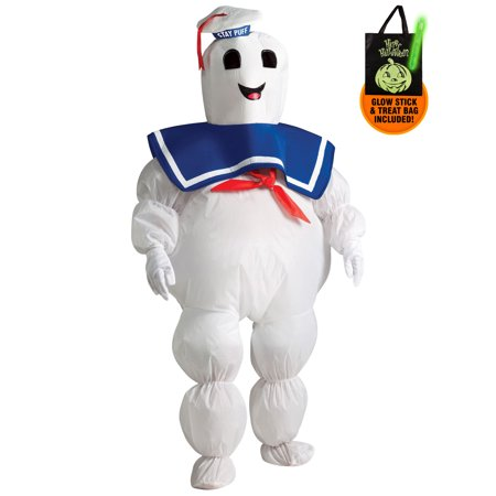 inflatable Stay Puft Ghostbusters Costume for Boys Treat Safety Kit - Stay Puft Inflatable