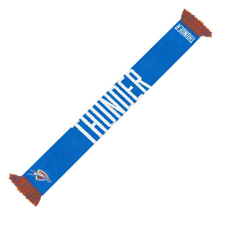 Oklahoma City Thunder Official NBA 64 inch  Team Logo Scarf by Forever Collectibles