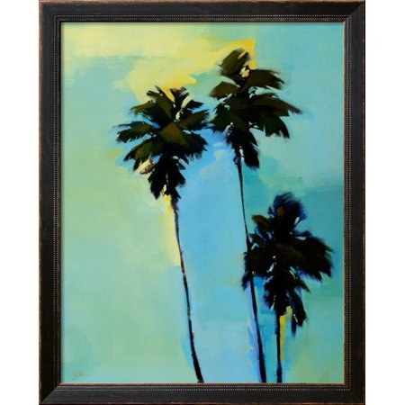 Art Print Greg Stocks - Looking up in L.A., Left Panel Framed Art Print Wall Art  By Greg Stocks - 26.5x33